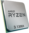 Ryzen 3 1300X 3.5GHz 65W 4 Cores 4 Threads 8MB Cache AM4 CPU