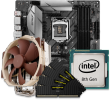 Intel 8/9th Gen CPU and micro-ATX Motherboard Bundle