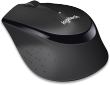 M330 Silent Plus Wireless Mouse, Black