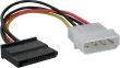 Quiet PC Molex IDE to Serial ATA Power Adapter Cable (Single)