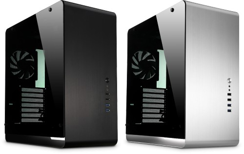 Nofan A490S Silent Desktop with windowed sides