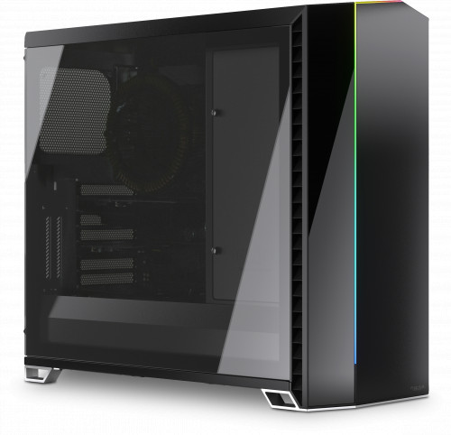 Nofan A890a Silent PC built inside the Fractal Design Vector!